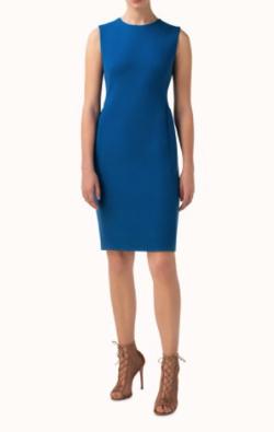 AKRIS ウールクレープ・ドレス
