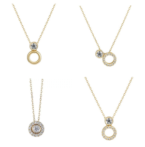 festaria bijou SOPHIA  K18イエローゴールド ダイヤモンド ネックレス