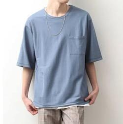 JUNRed ライトマイクロカノコアンサンブルTシャツ