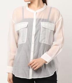LADYMADE BIGポケットシアーシャツ