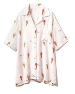gelatopique アイスモチーフシャツ
