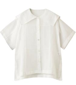 めざましテレビ・上白石萌音 ホワイトのシアーシャツブラウス