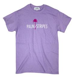 PALM/STRIPES LOGO TEE 2