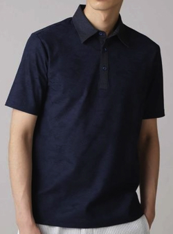 HIGH STREET カモジャガードポロシャツ