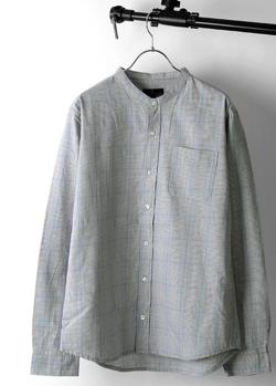 ZIP FIVE ブロードバンドカラー長袖シャツ
