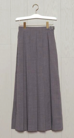 BEAUTY&YOUTH UNITED ARROWS WRAP PLEATED SKIRT