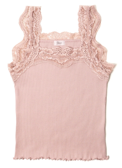 flower gorgeous lace cami