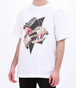 LOVELESS コラージュプリント Tシャツ