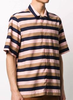 Paul Smith マルチストライプシャツ