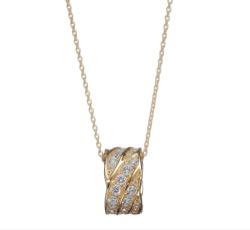 TERRA1012 Terra ラボグロウン ダイヤモンド ネックレス K18YG