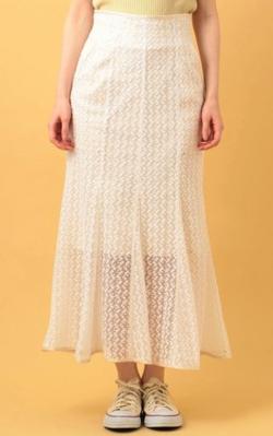 me&me couture フローラエンブロイダリースカート