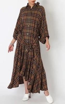 styling/ オーバーシャツドレス