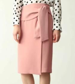 PINKY&DIANNE(ピンキーアンドダイアン)ラップリボンタイトスカート