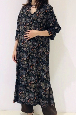 STELLA CIFFON Paisley print dress