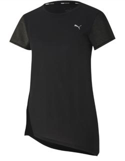 PUMA スタジオ ヨガ ウィメンズ メタリック 半袖 Tシャツ