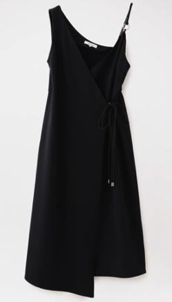 LOVELESS アシンメトリースタイリングドレス