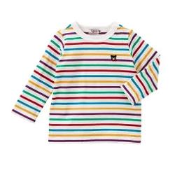 MIKI HOUSE Everyday DOUBLE_Bボーダー長袖Tシャツ