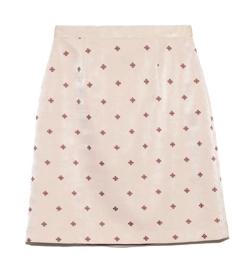 Lily Brown 小紋刺繍スカート