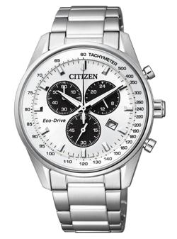 CITIZEN エコ・ドライブ クロノグラフ AT2390-58A
