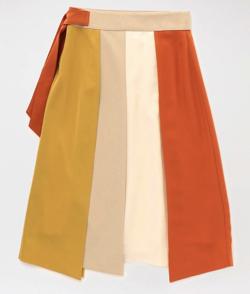 LOVELESS カラーブロッキングスカート