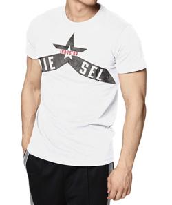 DIESEL メンズ Tシャツ グラフィックデザイン