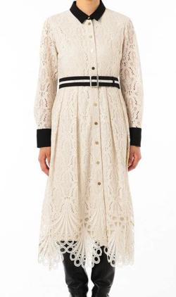 DIAGRAM GRACE CONTINENTAL レース刺繍ドレス