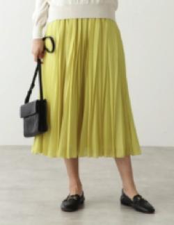 HUMAN WOMAN スパンローンスカート