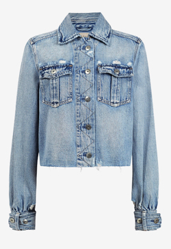 ALLSAINTS MAISY DENIM SHIRT