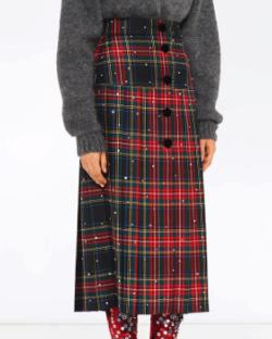 Miu Miu ビジュー スカート