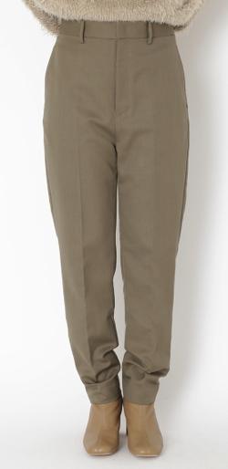 styling/ テーパードスーツパンツ