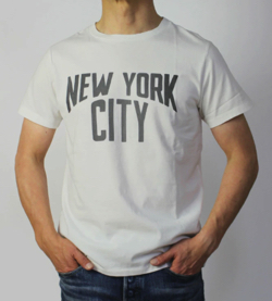 REMI RELIEF LW 加工 Tシャツ / NEW YORK CITY
