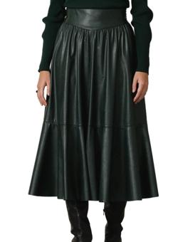 EPOCA シンセティックレザースカート