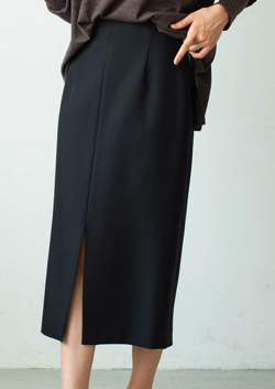 La boutique BonBon サステナブルナロースカート