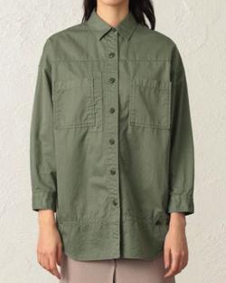 CAST: ガーメントダイオーバーシャツ