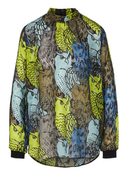 Marc Cain Blouse with owl print
