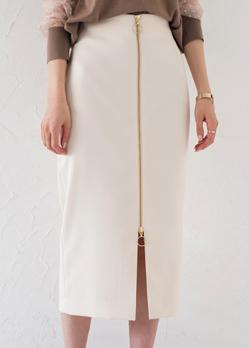 Loungedress ZIPタイトスカート