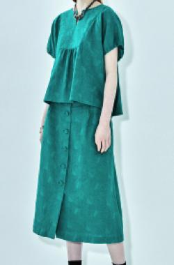 STELLA CIFFON Flola Mesh Jacquard top & skirt