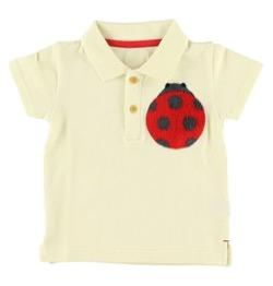 INSECT COLLECTION さがら刺繍てんとうむしちゃんポロシャツ