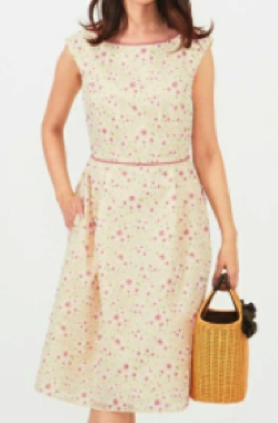 TOCCA TRUMPET FLOWER ドレス