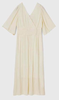MOUSSY CREPE LONG ドレス