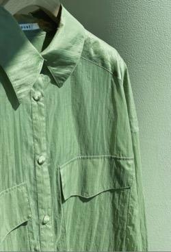 CADUNE シアーシャツ