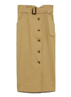 SNIDEL Iライントレンチスカート