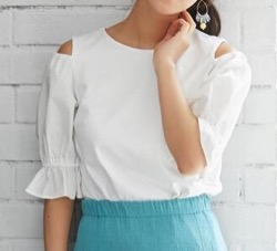 TOCCA Puff Sleeve Tシャツ