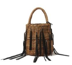LUDLOW Fringe basket