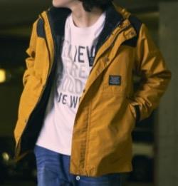 GLAZOS 4wayジャケット