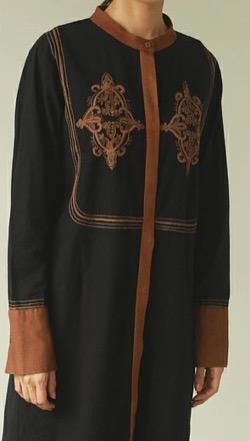 TODAYFUL Embroidery Shirts Dress