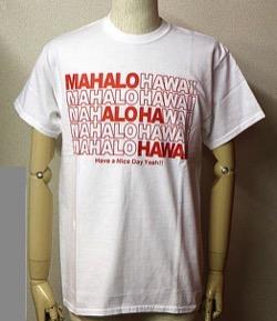 DAYS OF ALOHA ハワイロゴプリント半袖Tシャツ