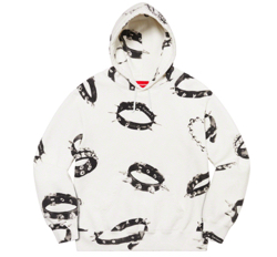 Supreme Studded Collars Hooded Sweatshirt