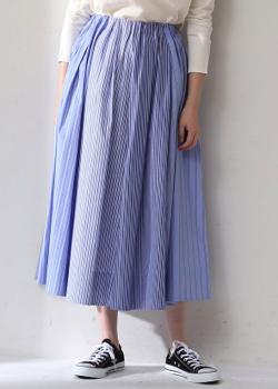 ADIEU TRISTESSE 切り替えギャザースカート