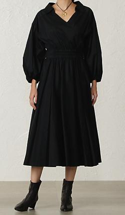 EPOCA コットンクロスシャツドレス
